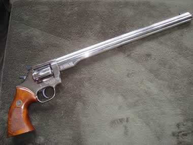 longest  barrel revolver